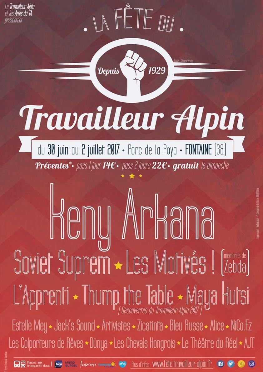 Combatucada - Travailleur Alpin 2017