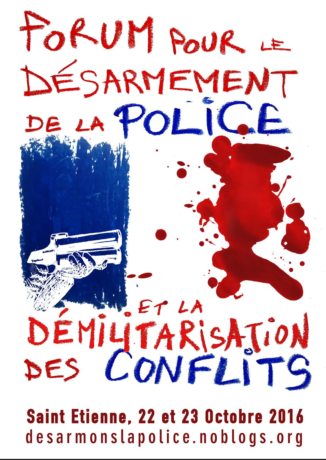 Forum désarmement 2016 Combatucada