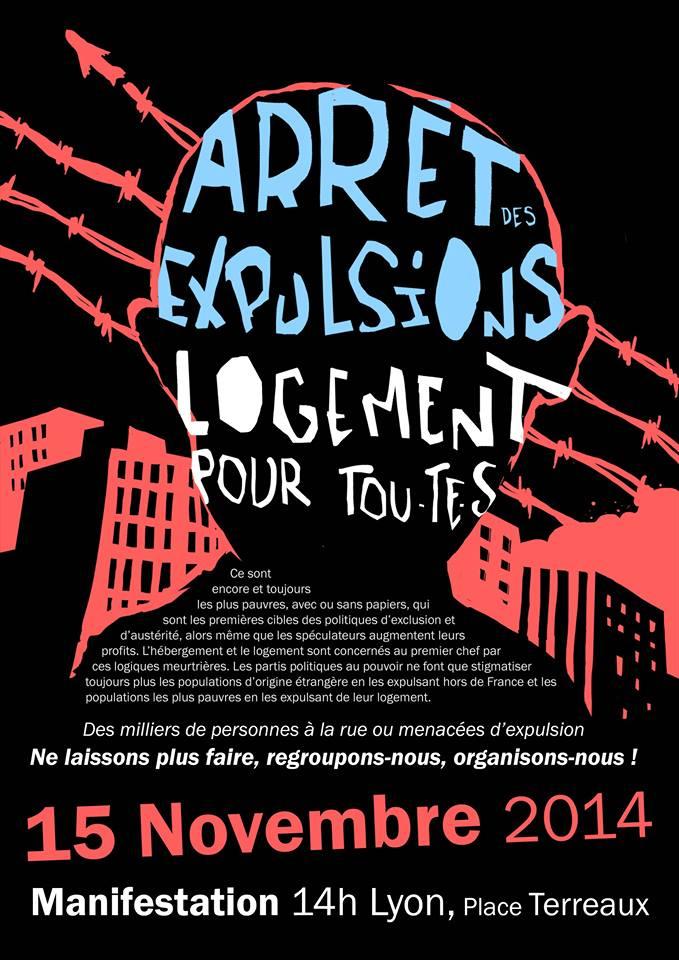 Logements-Expulsions-11-2014-Lyon Combatucada