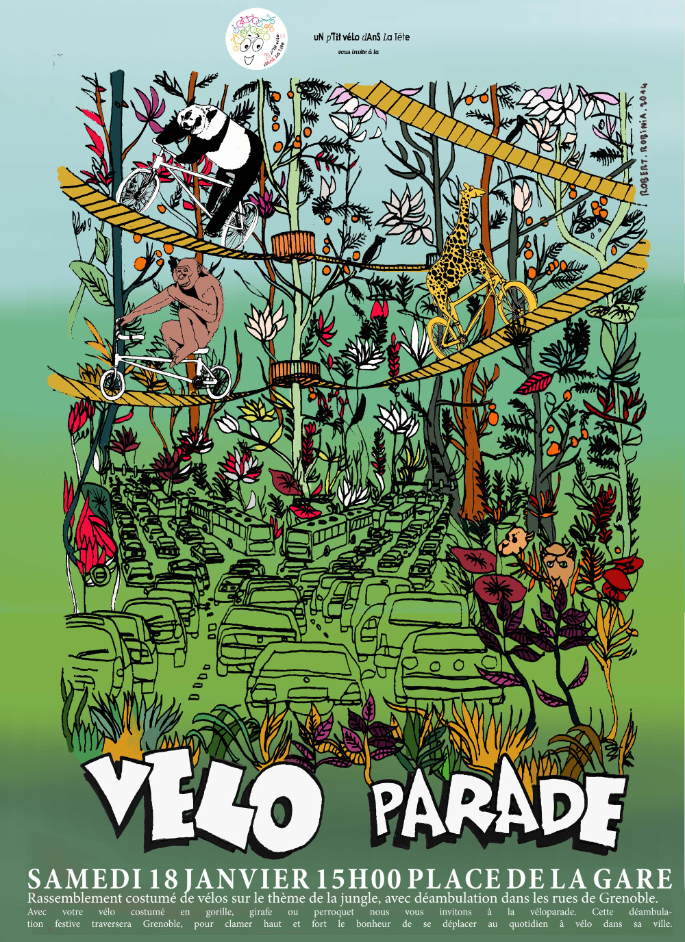 Véloparade de la jungle